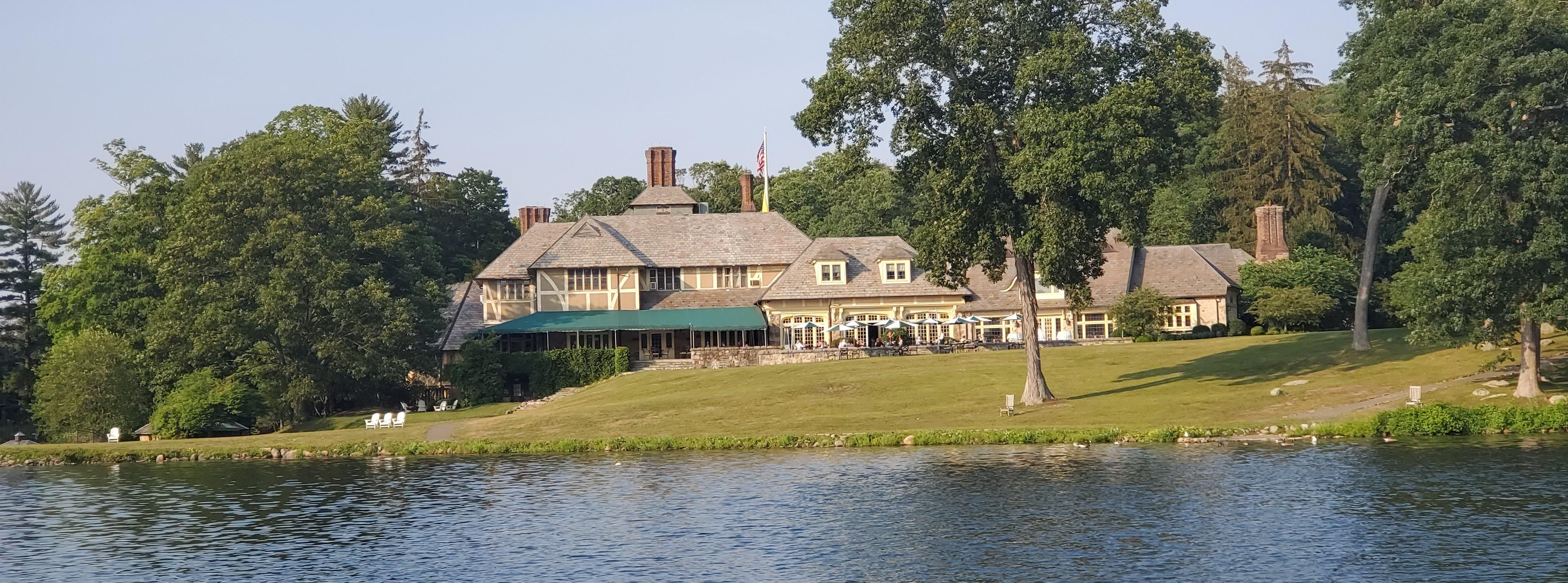 The Tuxedo Club Main Clubhouse