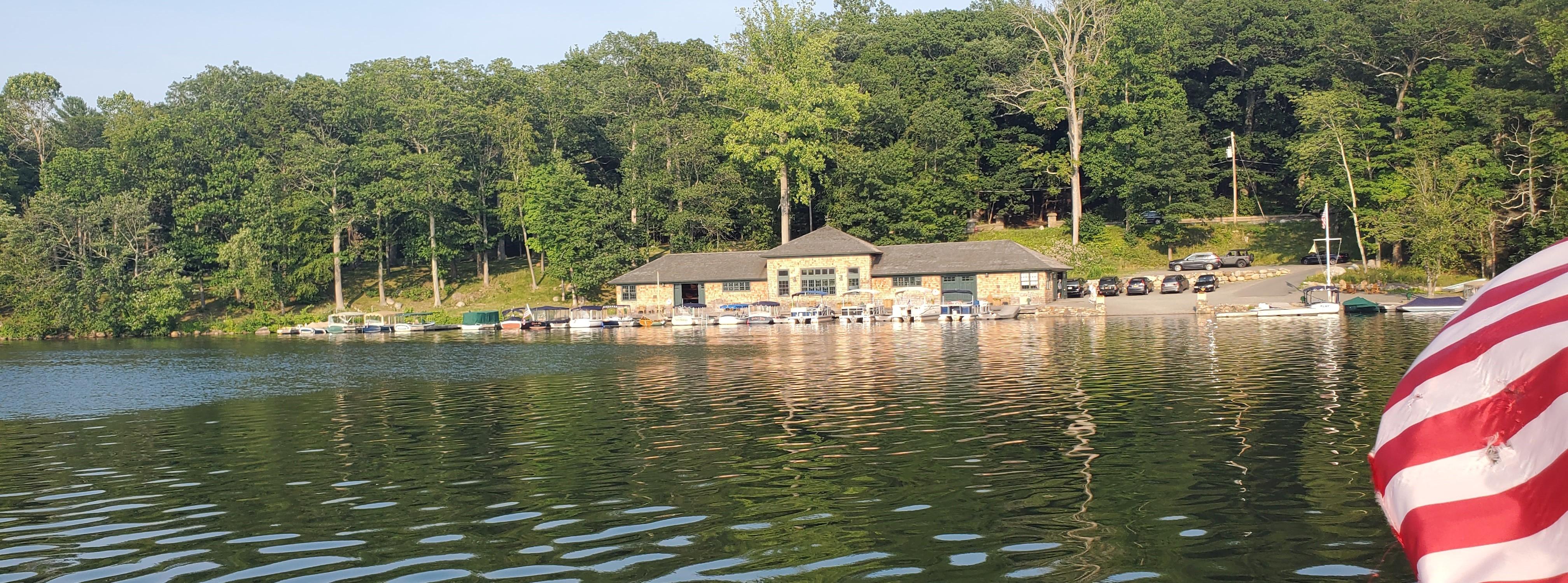 The Tuxedo Club Boathouse