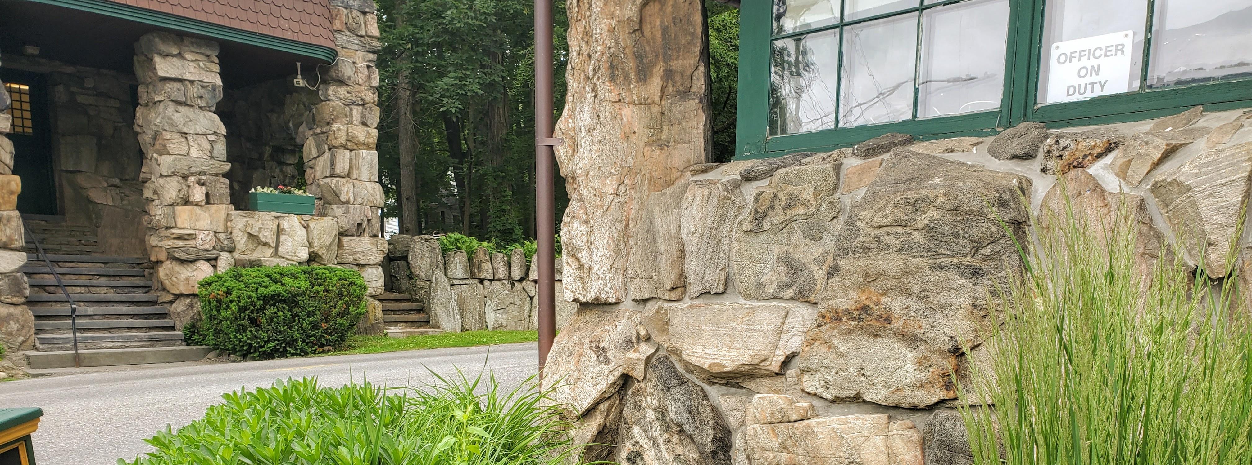 Lodge & Keep Buildings