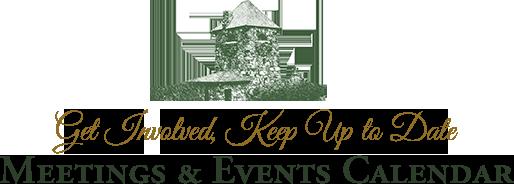 Meetings & Events Calendar